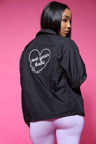 Love Yourz Printed Coach Jacket