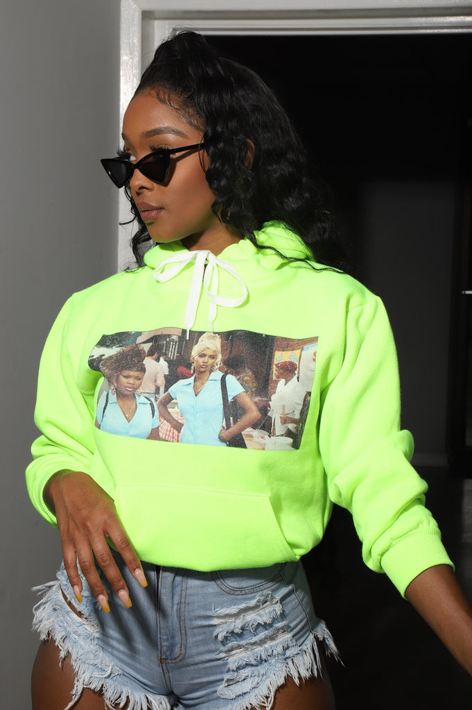 BAPS The Movie Pullover Hoodie - Slime - Swank A Posh