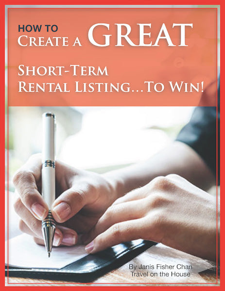 HOW TO CREATE A GREAT SHORT-TERM RENTAL LISTING