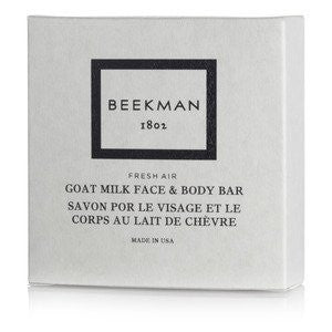 Hotel Size Beekman 1802 Goat Milk Face and Body Bar Soap