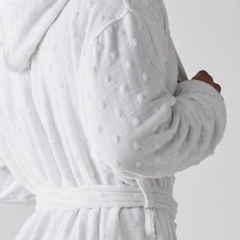 """Billy"" a Luxurious Bathrobe by Heidi Wiesel"