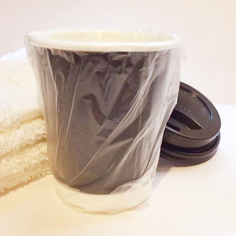 Individually Wrapped Insulated Hot/Cold Drinking Cups with Lids
