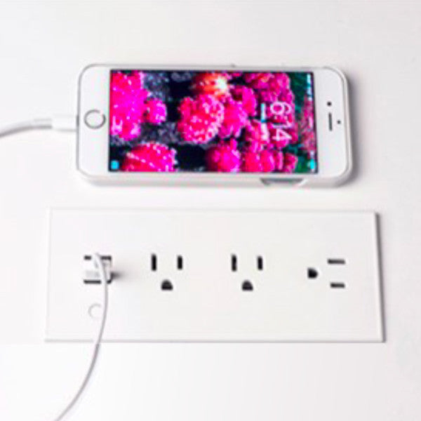 Flush Mount Power Strip With Outlets And Usb Ports