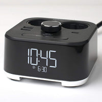 CubieTime EU - Clock with Power Outlets and USB Ports | GuestOutfitters.com