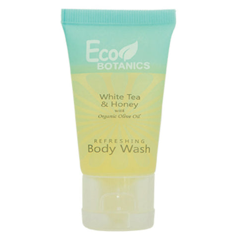 Eco Botanics White Tea & Honey Body Wash, 1oz. | GuestOutfitters.com