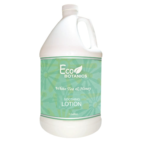 Eco Botanics White Tea & Honey Lotion, Gallons | GuestOutfitters.com