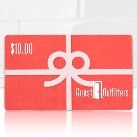 Vacation rental supply gift cards | GuestOutfitters.com