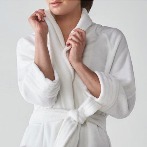 """Nikki"" a Luxurious Bathrobe designed for a women 