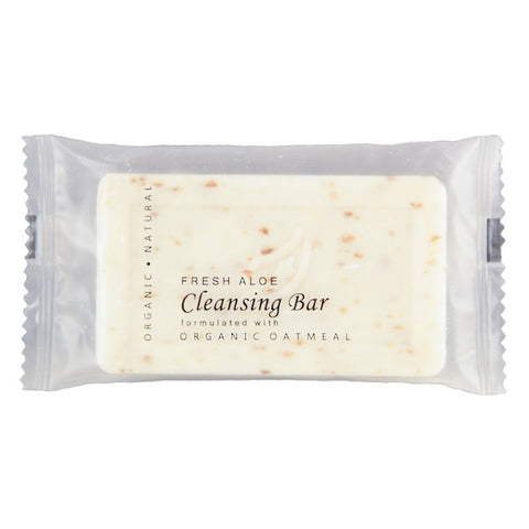 Terra Pure Green Tea Aloe & Oatmeal Cleansing Bar, 1.25oz. | Hotel Size Spa Soap | GuestOutfitters.com