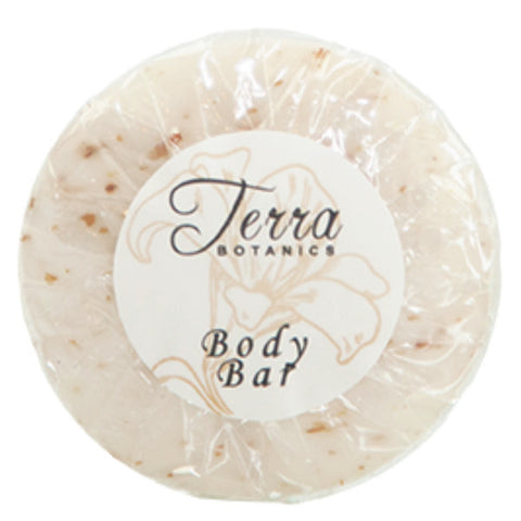 Terra Botanics Body Bar, 1.06oz. Pleat Wrapped | GuestOutfitters.com