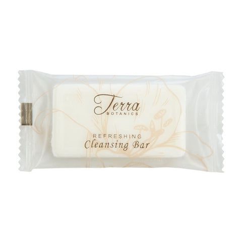 Terra Botanics Refreshing Cleansing Bar, .75oz. | Vacation Rental Soap Supplies | GuestOutfitters.com