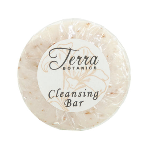 Terra Botanics Cleansing Bar, .53oz. Pleat Wrapped | GuestOutfitters.com