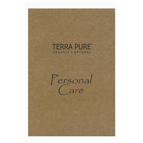 Terra Pure Green Tea Personal Care Kit | Hotel Sized Grooming, Vanity and Mending Supplies | GuestOutfitters.com
