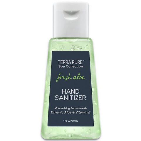 Terra Pure Fresh Aloe Hand Sanitizer for Airbnb Vacation Rentals | GuestOutfitters.com