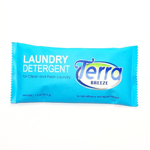 Terra Breeze Laundry Detergent, Single Use Size Packets