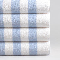 Classic Cabana Stripe Pool Towels | GuestOutfitters.com