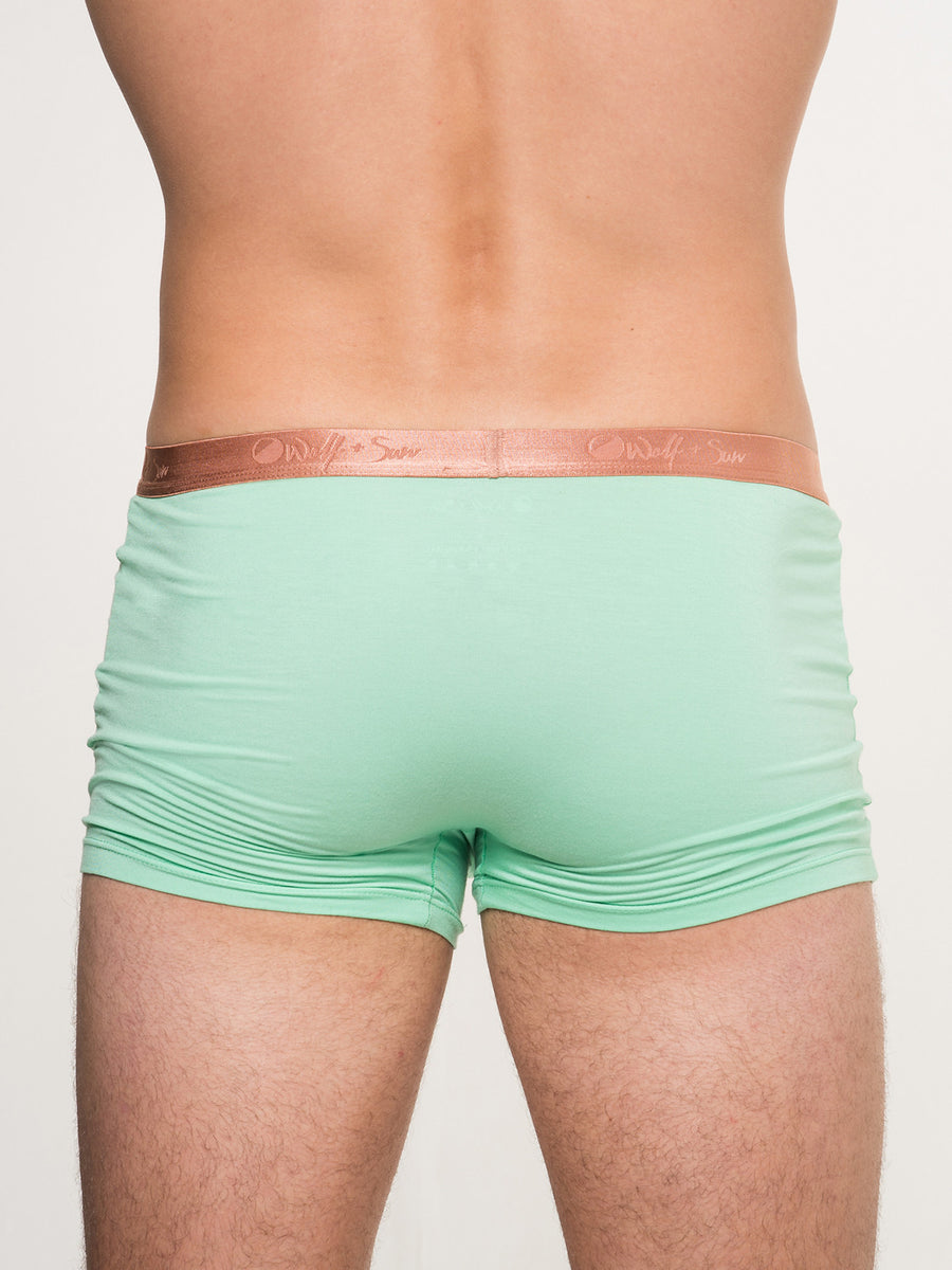 Moon Gold Trunk- Lime Green