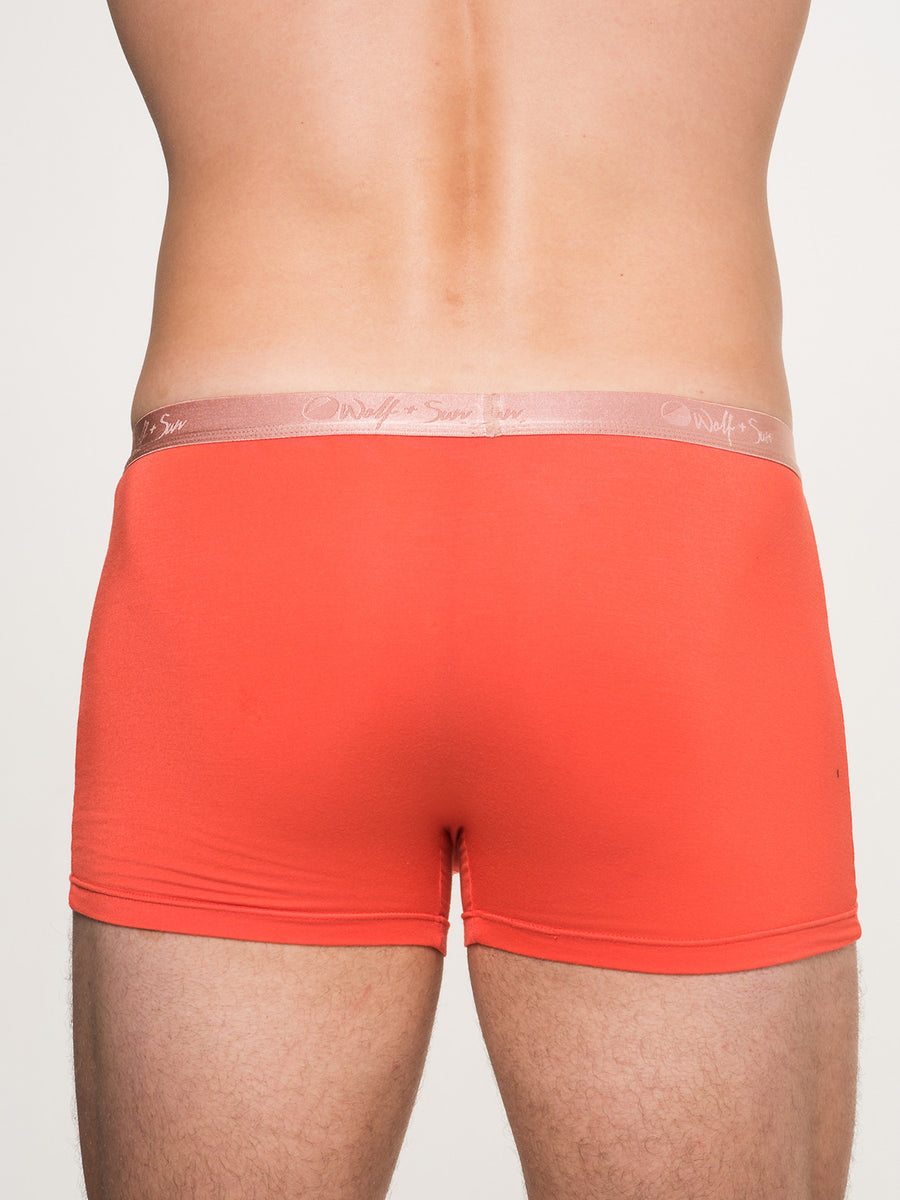 Moon Gold Trunk- Warm Red