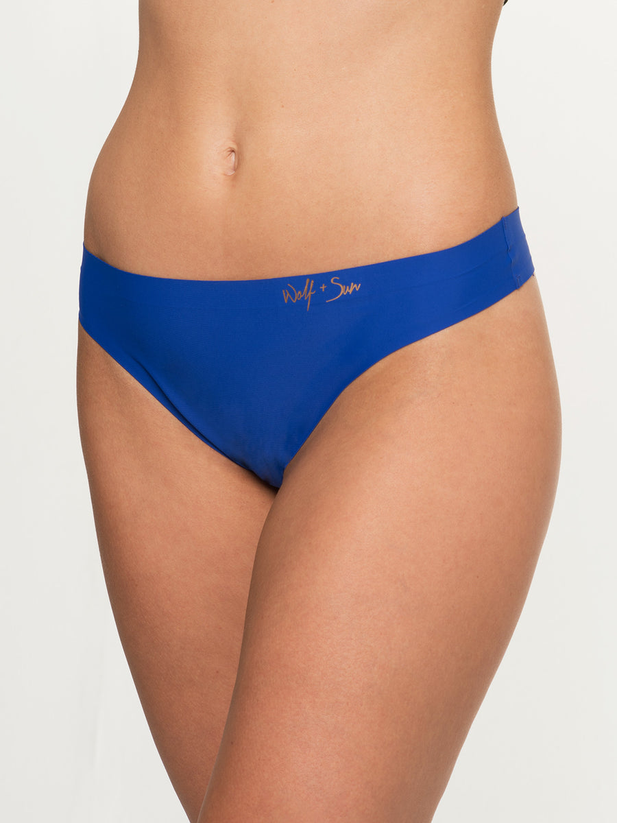 Untamed Underwear- Blue
