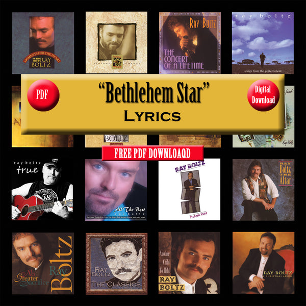 """Bethlehem Star"" The Lyrics"