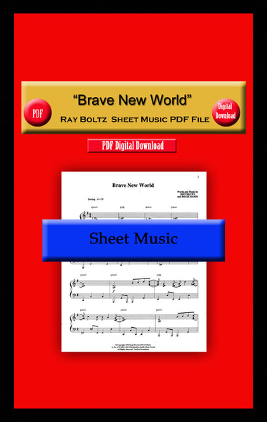 """Brave New World"" Ray Boltz Sheet Music PDF File"