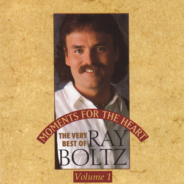 """Moments For The Heart"" Volume One By Ray Boltz-MP3 Digital Download"