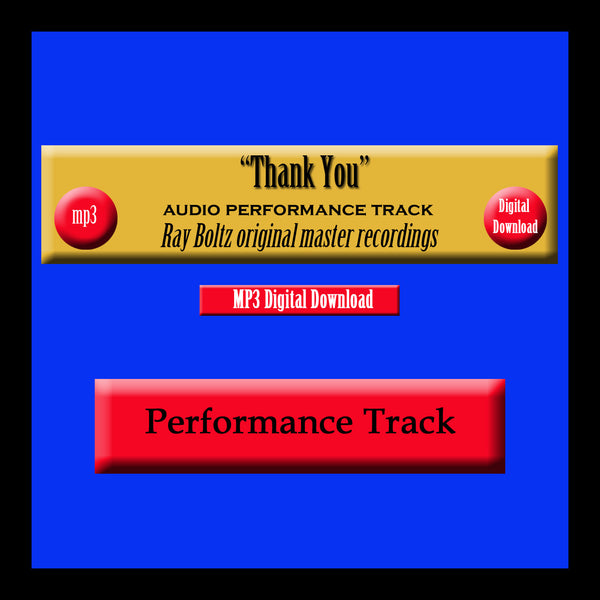 """Thank You"" Original Ray Boltz Performance Track"