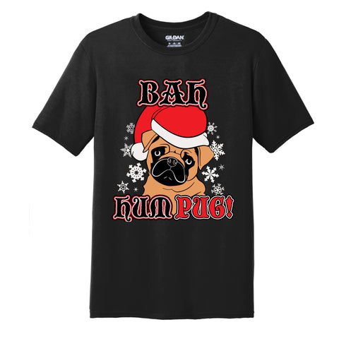 12K's of Christmas - Bah Hum Pug Tee