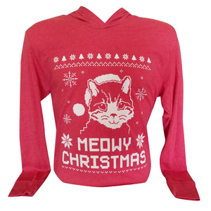 12K's of Christmas - Meowy Christmas Hooded Tee