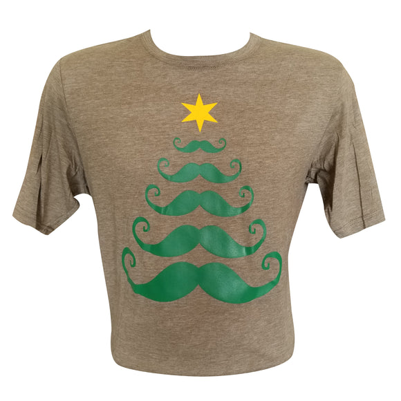 12K's of Christmas - Mustache Tree Tee