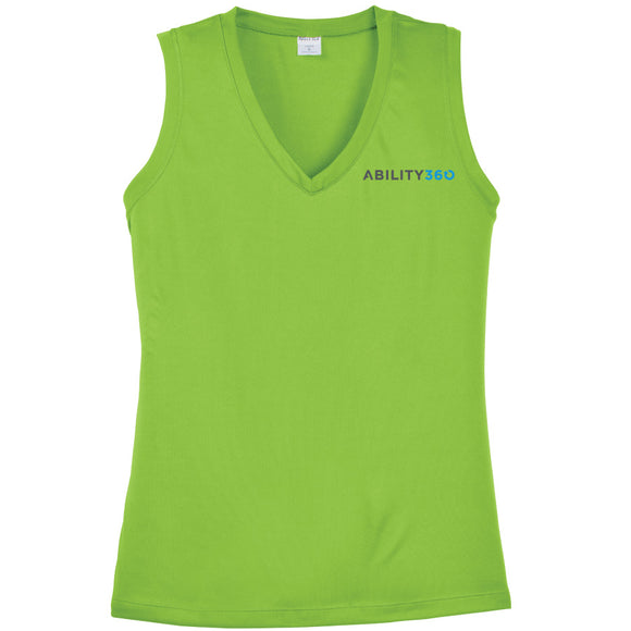 Ability360 - Ladies Sleeveless V-Neck (LST352)
