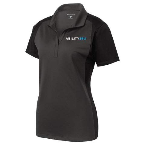 Ability360 Womens Colorblock Polo (LST652)