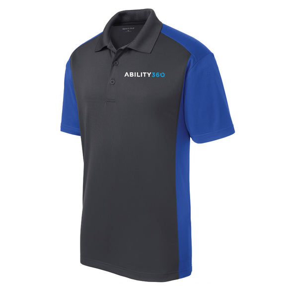 Ability360 Mens Colorblock Polo (ST652)