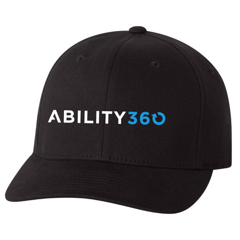 Ability360 - Brushed Twill Cap (Flexfit 6377)