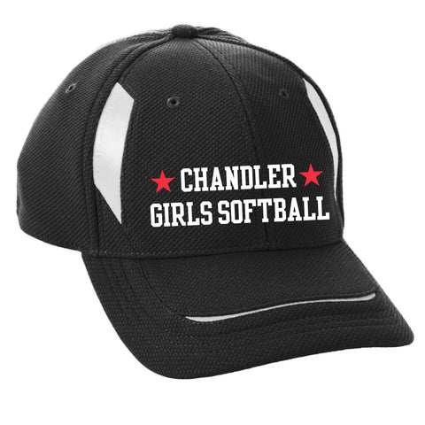 Adult Chandler Girls Softball Mesh Edge Cap