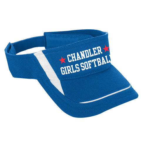 Youth Chandler Girls Softball Visors