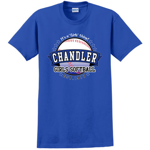 Youth Chandler Softball Fan T