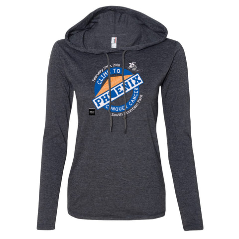 Climb Ladies Hoody Tee