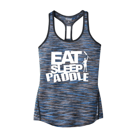 Rose Regatta Dragonteez - Eat Sleep Paddle Tank Tops