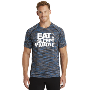 Rose Regatta Dragonteez - Eat Sleep Paddle Mens Tee