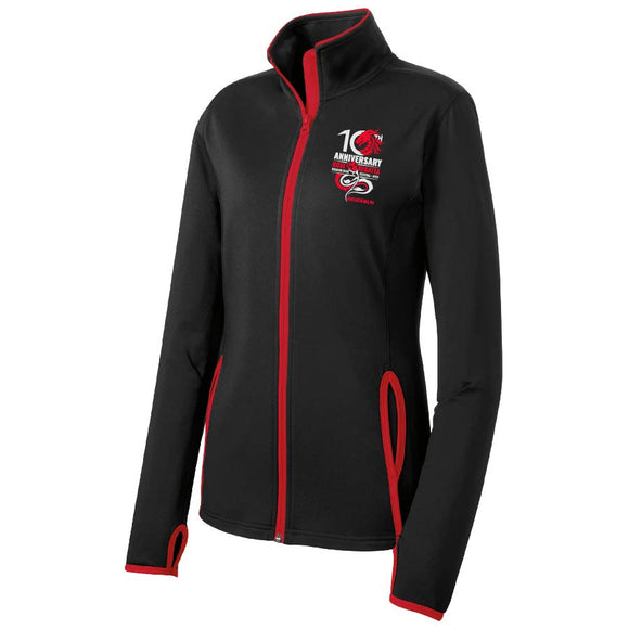Rose Regatta Sport-Wick Full Zip Womens Jacket