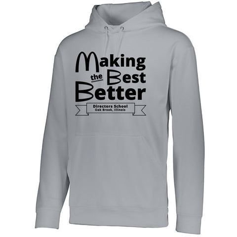 NRPA Oak Brook Making the Best Better - Wicking Fleece Hooded Sweatshirt (Augusta 5505) (No Year)