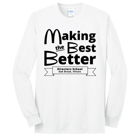 NRPA Oak Brook Making the Best Better - Long Sleeve Core Blend Tee (PC55LS) (No Year)