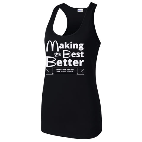 NRPA Oak Brook Making the Best Better - Ladies Racerback Tank (LST356) (No Year)