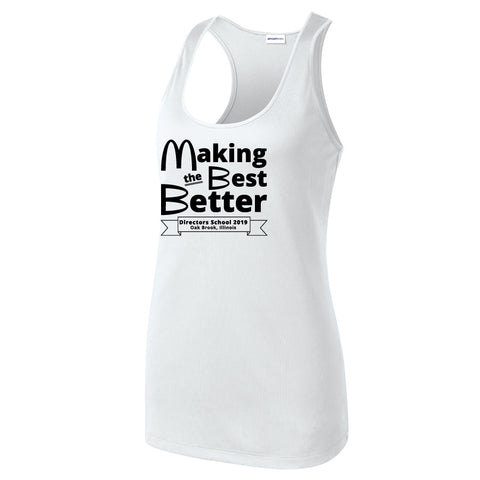 NRPA Oak Brook Making the Best Better - Ladies Racerback Tank (LST356) (2019)