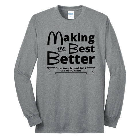 NRPA Making the Best Better - Long Sleeve Core Blend Tee (PC55LS)
