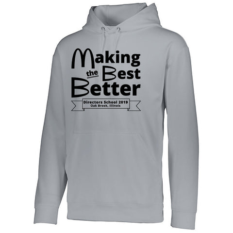 NRPA Oak Brook Making the Best Better - Wicking Fleece Hooded Sweatshirt (Augusta 5505) (2019)
