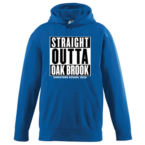 NRPA Straight Outta Oak Brook - Wicking Fleece Hooded Sweatshirt (Augusta 5505) (2019)