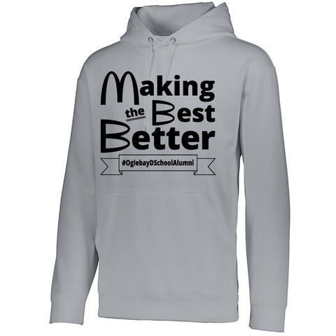 NRPA Oglebay Making the Best Better - Wicking Fleece Hooded Sweatshirt (Augusta 5505)