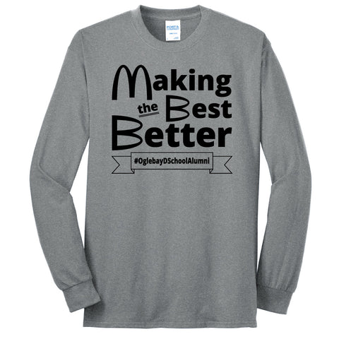 NRPA Oglebay Making the Best Better - Long Sleeve Core Blend Tee (PC55LS)